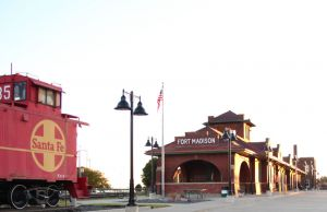 City of Fort Madison Santa Fe Depot