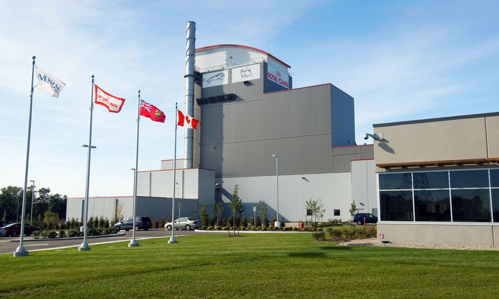 Royal Canin Canada Pet Food Production Plant And Corporate Office Guelph Ontario