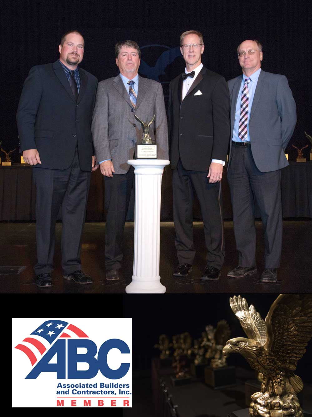 Carl A. Nelson and Company Wins Big at ABC of Iowa Awards Gala